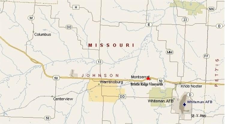 Johnson County Map