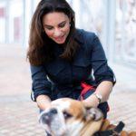 Clingy Dog Author Farah with dog