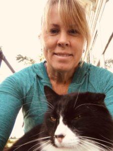 Pet Sitters Knob Noster Sedalia cat in lap