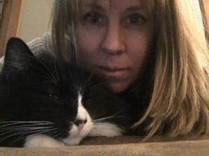 Professional Pet Sitter Tux cat