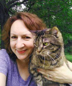 pet Sitter Susan holding cat